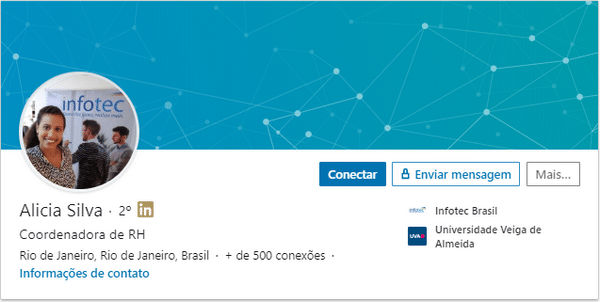 Academia Infotec Brasil: Alicia Iana Martins da Silva
